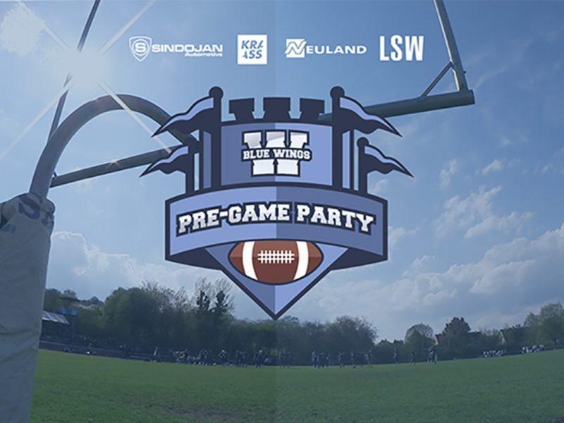 Pre-Game-Party (Stadionfest) der Blue Wings