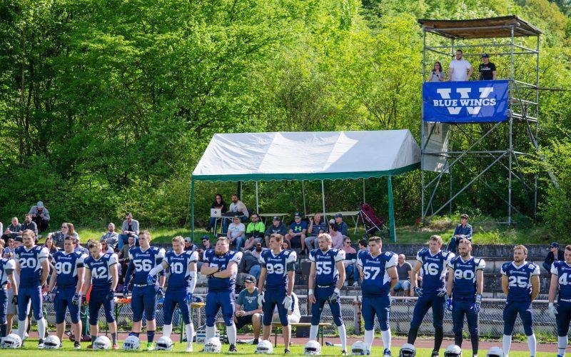 Blue Wings wieder daheim: Rückspiel gegen die Grizzlies