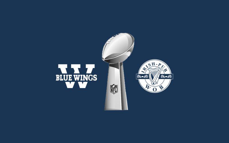 Blue Wings Super Bowl Party steigt am 3.2.2019 im Irish Pub Wolfsburg