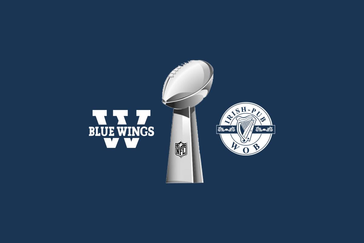 Blue Wings Super Bowl Party